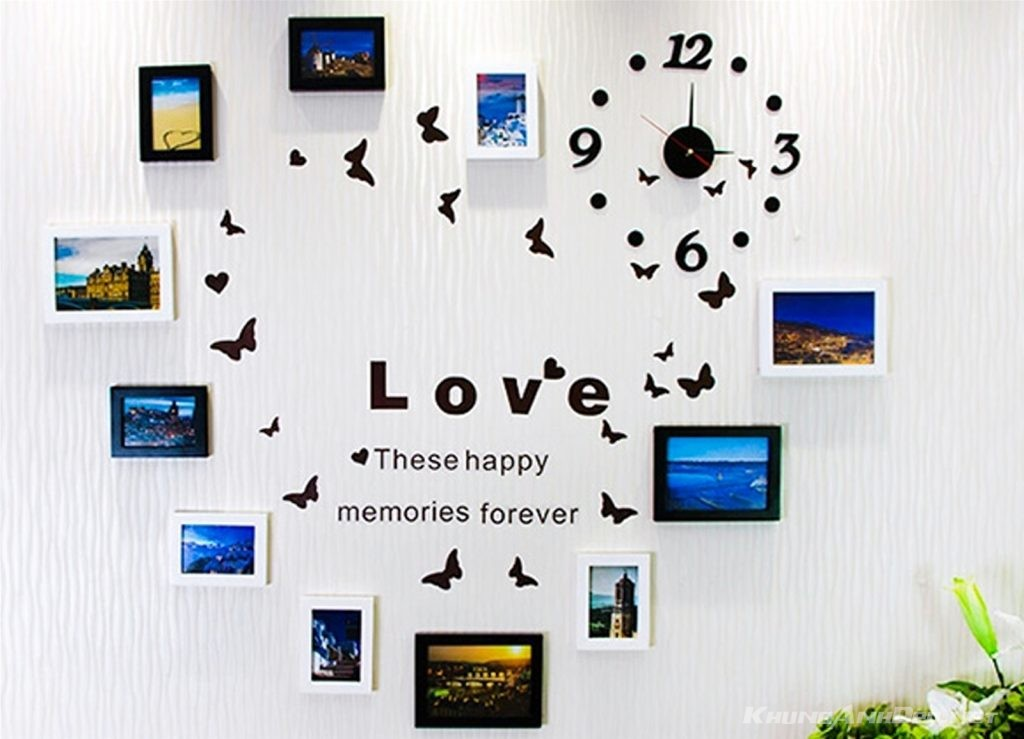 Bộ khung ảnh hạnh phúc