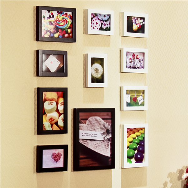 Bộ 11 khung ảnh treo tường đẹp