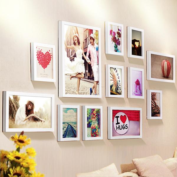 Bộ khung ảnh treo tường phòng cưới