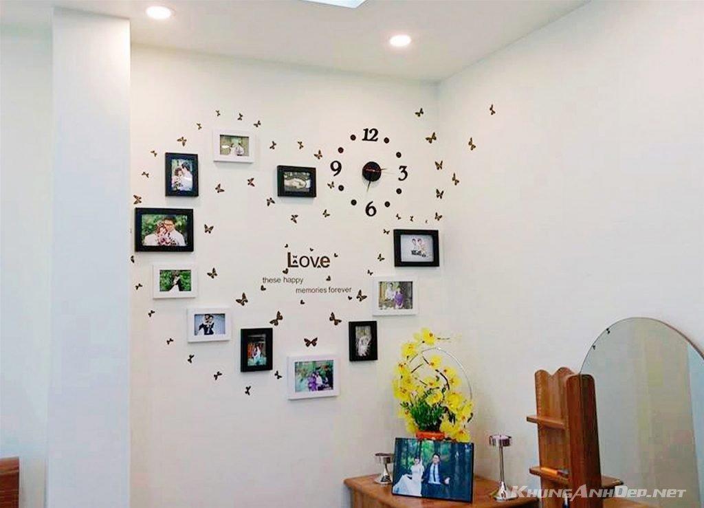 Bộ 11 khung ảnh treo tường phòng cưới