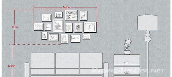 Tham khảo sơ đồ bố trí bộ khung ảnh KAD1502