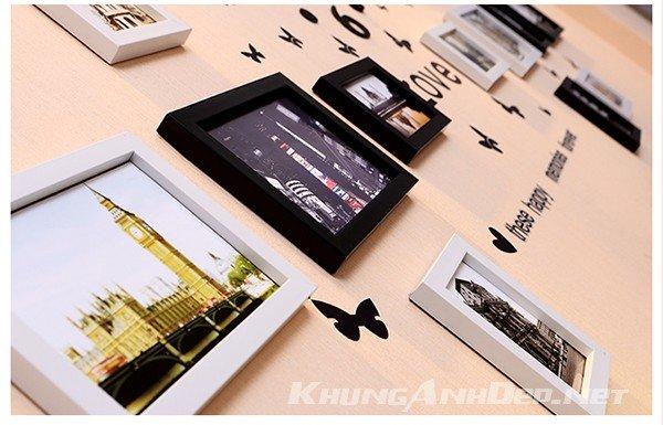 Cận cảnh khung ảnh Composite hình hộp chất lượng cao