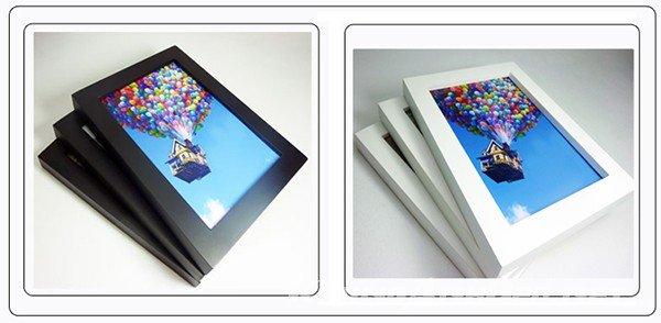 Cận cảnh khung ảnh bằng vật liệu tổng hợp Composite