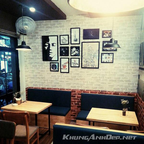 Bộ 13 khung ảnh treo tường quán Cafe độc đáo KAD1306